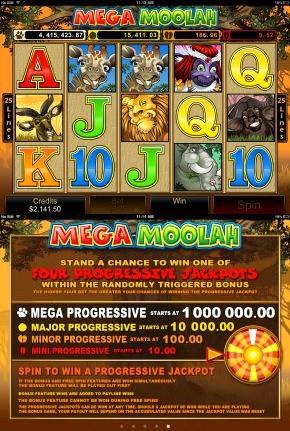 iPhone Mega Moolah Slots Jackpot