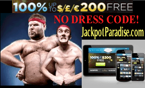 Jackpot Paradise Casino Featured Bonus